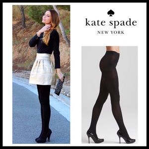 KATE SPADE BLACK TIGHTS A2C